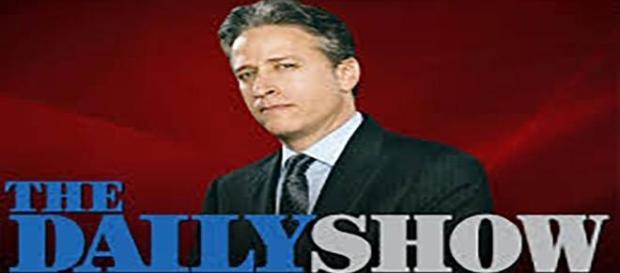 "Jon Stewart, animateur du ""Daily Show""."