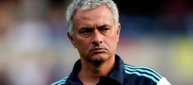 Mourinho s'est montré tendu à l'interview.