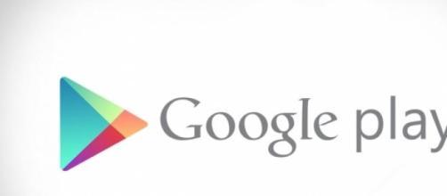Il logo di Google play store