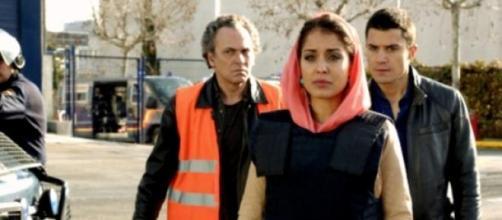 Los actores en una escena de la primera temporada
