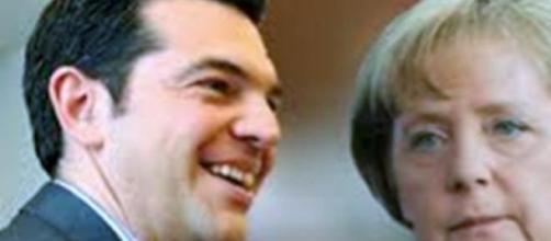 Merkel y Tsipras negociación a contra reloj