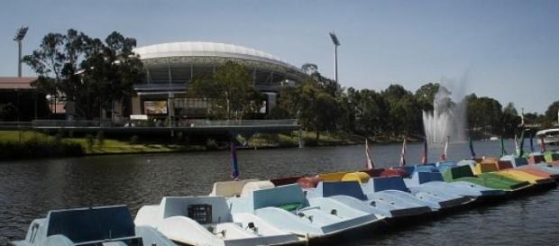 Adelaide strahlt vollkommene Ruhe aus.