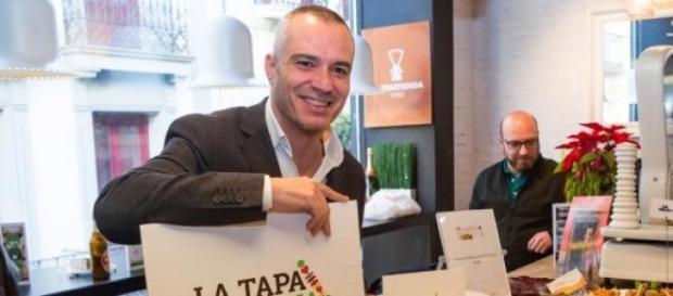 El chef Juan Pozuelo en Tapa Solidaria Madrid