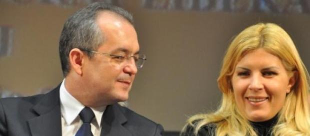 Emil Boc si Elena Udrea  s-au intalnit