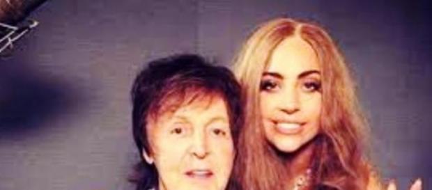 Paul McCartney e Lady Gaga fazem parceria