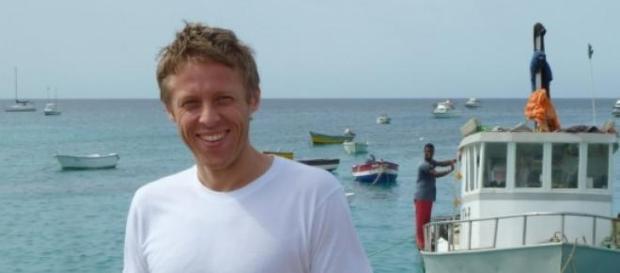 Poza realizata in una dintre calatoriile lui