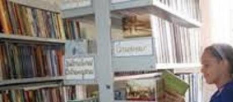 Biblioteca: ótimo espaço para a leitura