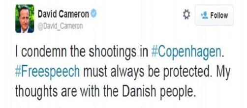 David Cameron's reaction to the shootings