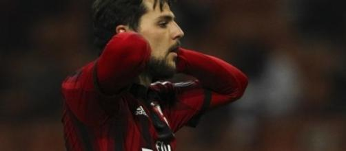 Mattia Destro Milan Empoli 1-1