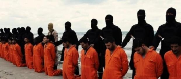 Reféns egípcios foram decapitados.