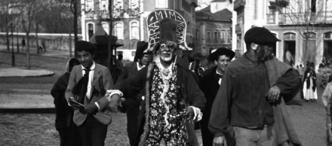 O Carnaval lisboeta em 1900 com o tradicional Xéxé