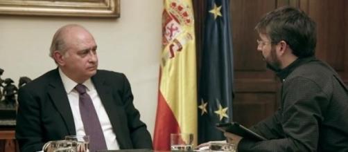 Entrevista de Évole a Fernández Díaz
