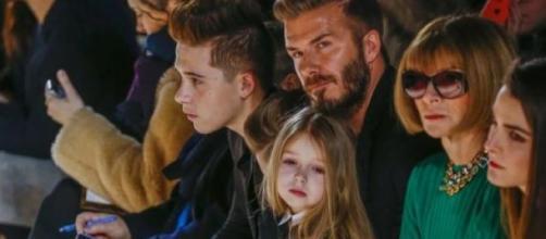 Família Beckham no NYFW / Foto: Reprodução