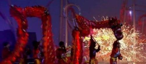 Festa da chegada do ano novo chinês