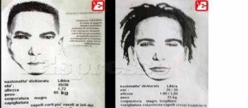 Identikit: due libici ricercati (fonte l'Espresso)