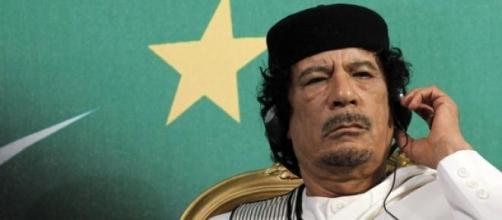 L'ex rais, Muhammar Gheddafi