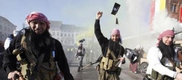 Char djihadiste pour le carnaval d'Alost