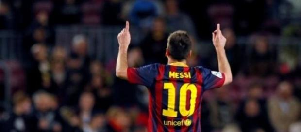 Messi logra un nuevo Hattrick