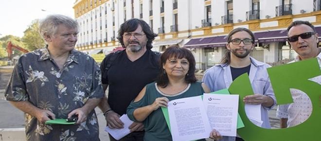 Presentación de los portavoces de Ganemos Sevilla.