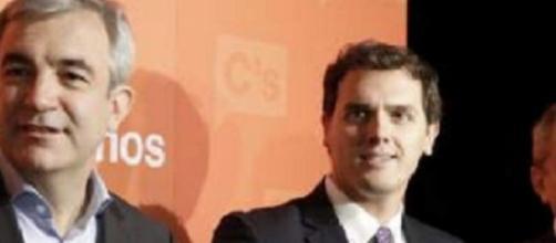Albert Rivera, Luis Garicano y Manuel Conthe