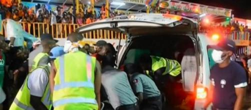 Haiti Carnival float victims rushed to hospitals