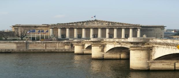 Colonnade Assemblée Nationale -