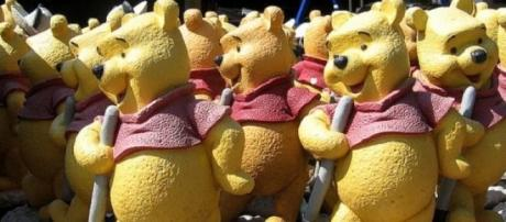 Pooh sticks competition has moved location