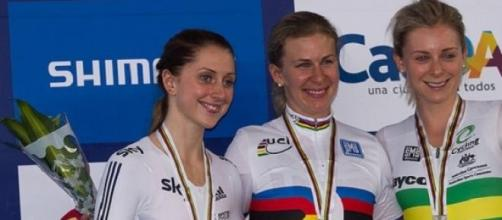 Laura Trott (left) expected to shine in Paris