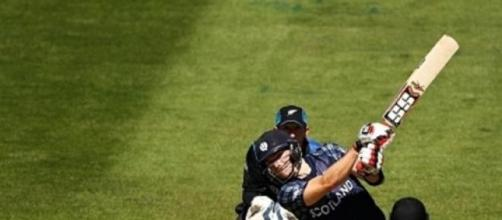 Matt Machanwas the pick of the Scottish batsmen