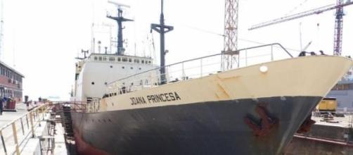 Navio Joana Princesa acolheu o fotógrafo açoriano