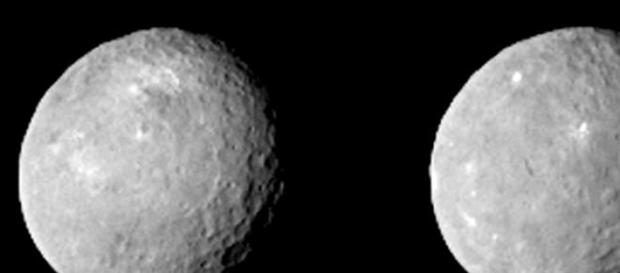 Ceres con resolución de 7,8 kilómetros por píxel