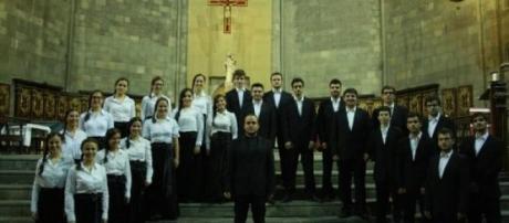 Coro de Câmara na Basílica de Santa Maria del Pi