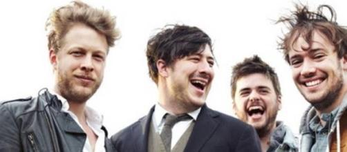 A banda inglesa Mumford & Sons