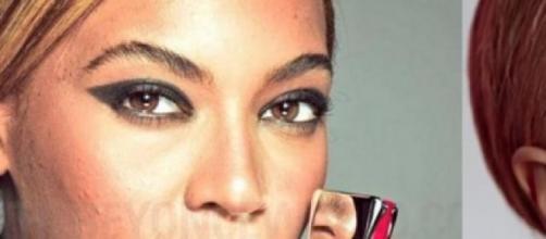 Beyoncé sin retoques con Photoshop