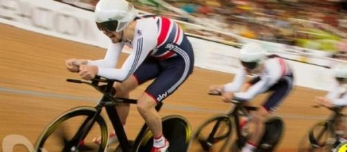 GB's team pursuit riders are in the finals