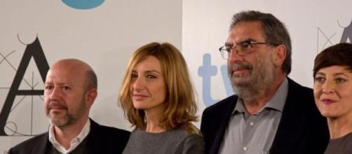 González Macho en la presentación de Los Goya 2013