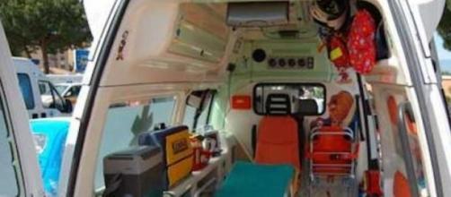 L'ambulanza di Nicole ha sbagliato strada