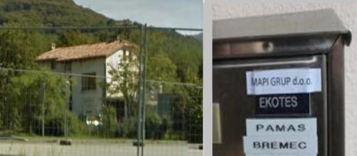 La fatiscente sede della Mapi Group a Nova Gorica