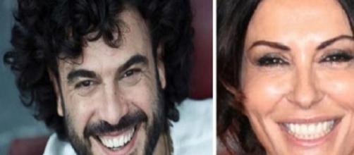 Sabrina Ferilli e Francesco Renga.