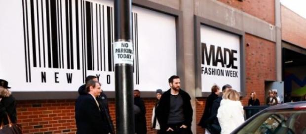 """Recinto industrial de la """"Made Fashion Week"""""""