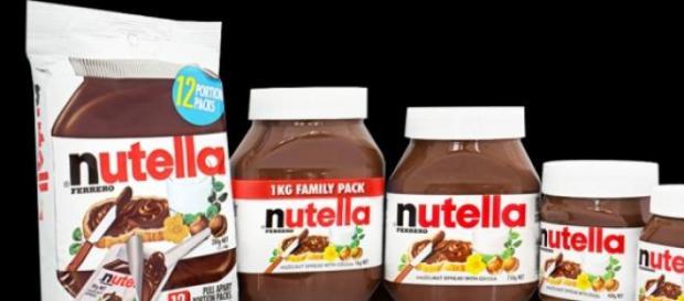Vari tipi della mitica Nutella