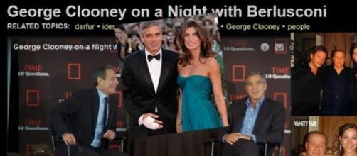 George Clooney parla della cena con Berlusconi
