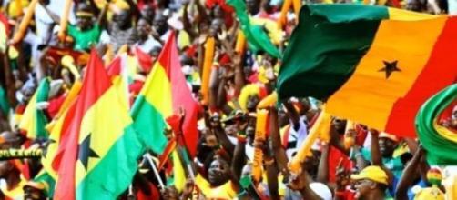 I tifosi della Nazionale del Ghana