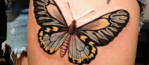 Tatuagens de borboletas vão além da beleza