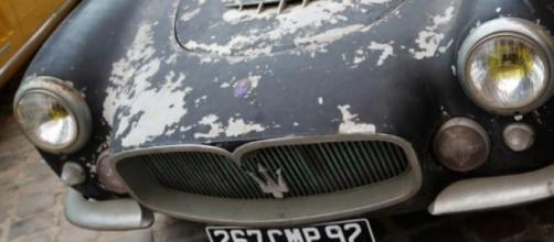 Une des Maserati de chez Artcurial
