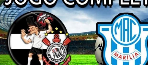 Corinthians 3 x 0 Marília