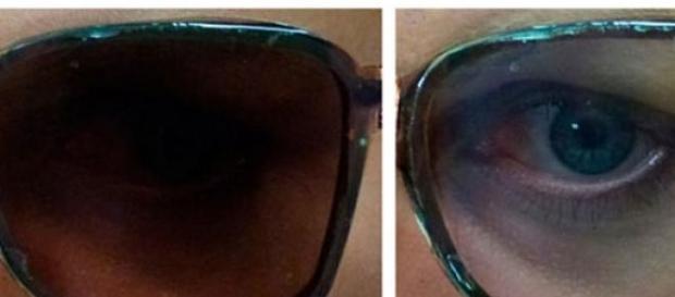 Lentes electrocrómicas para gafas tintadas