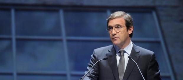 Passos Coelho, primeiro-ministro de Portugal.