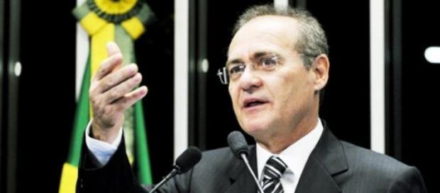 Renan Calheiros foi reeleito presidente do Senado