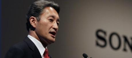 Kazuo Hirai, presidente y CEO de Sony corporation